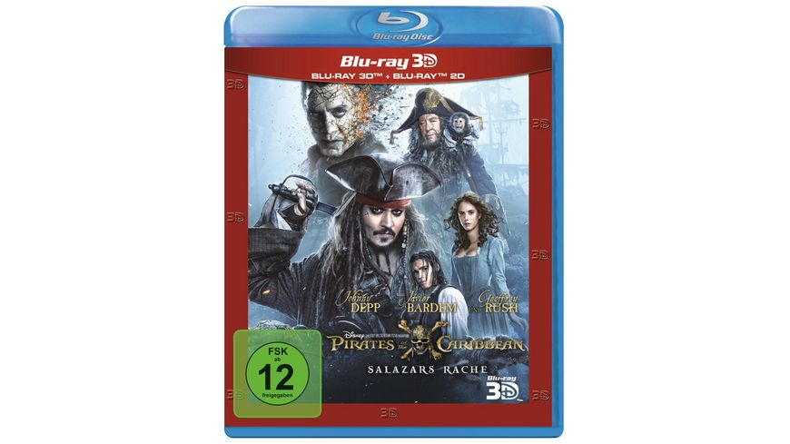 Pirates of the Caribbean 5 Salazars Rache Blu ray 2D