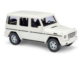 Busch 51451 Mercedes Benz G Klasse 08 Weiss