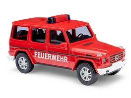 BUSCH 51459 Mercedes Benz G Klasse 08 Feuerwehr 1 87