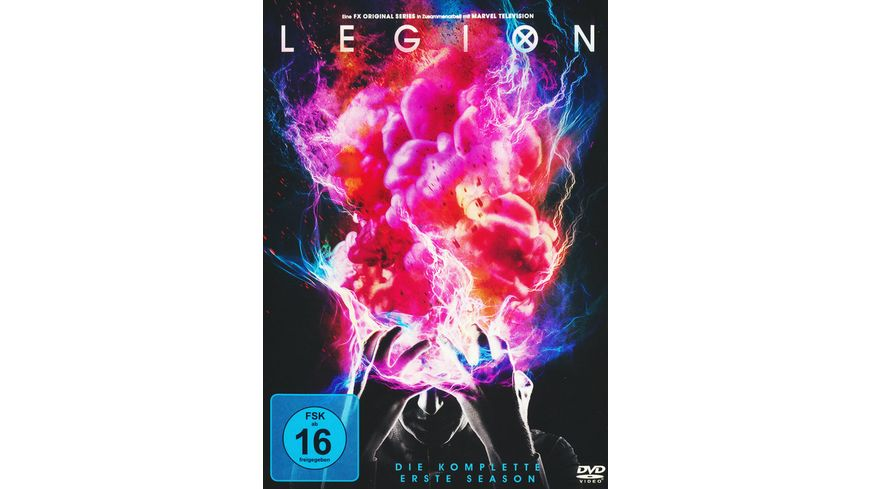 Legion Season 1 3 DVDs