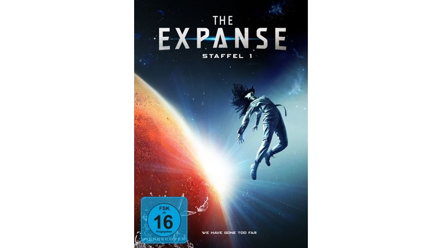 The Expanse Staffel 1 3 DVDs