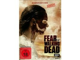 Fear the Walking Dead Die komplette dritte Staffel Uncut 4 DVDs
