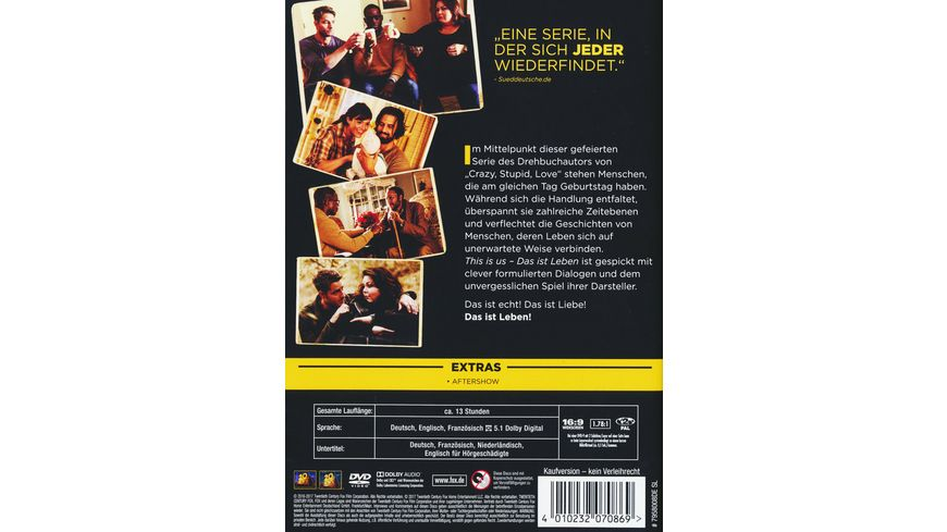 This is us Season 1 5 DVDs