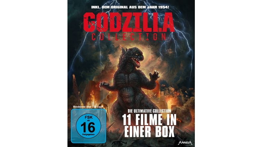 Godzilla Collection Limited Edition 11 DVDs