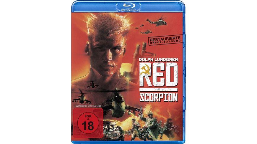 Red Scorpion Restaurierte UNCUT Fassung