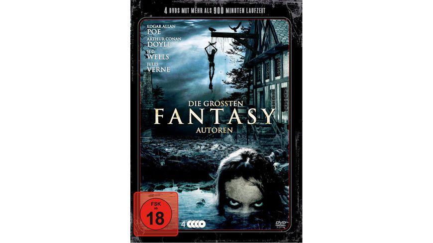 Die groessten Fantasy Autoren 4 DVDs