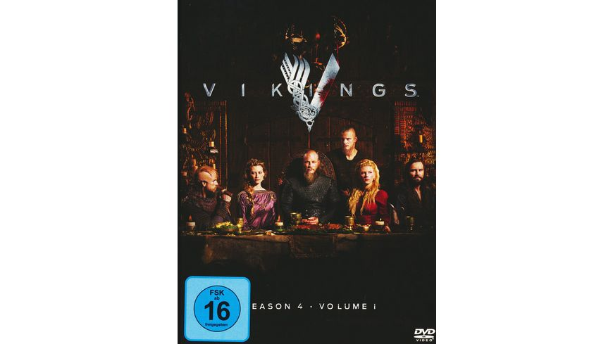 Vikings Season 4 1 3 DVDs