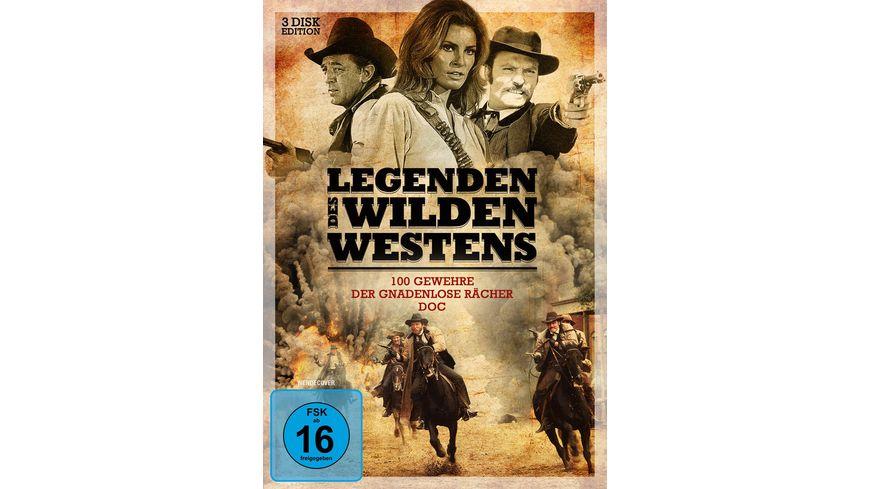 Legenden des Wilden Westens 3 DVDs