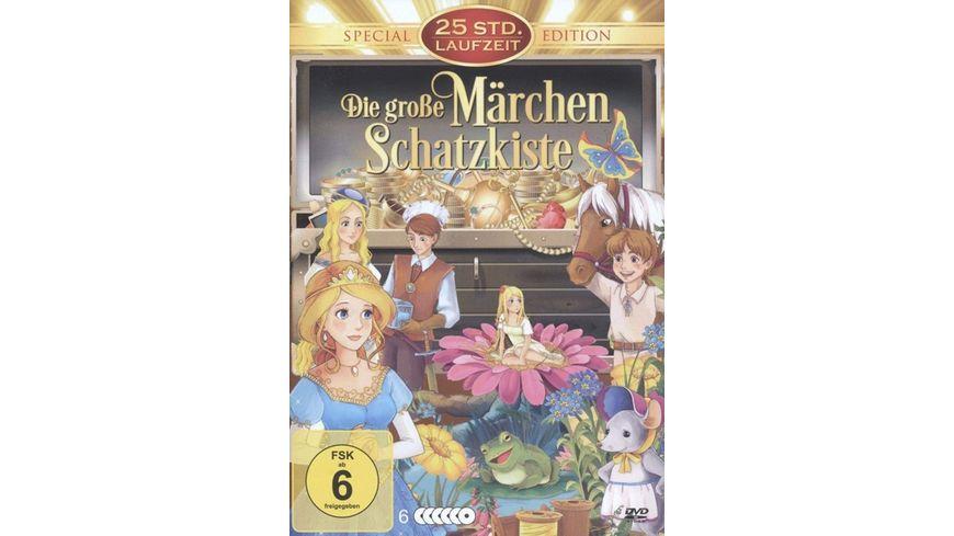 Die grosse Maerchen Schatzkiste 6 DVDs