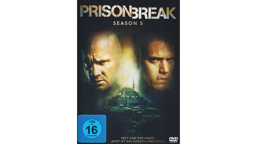 Prison Break Season 5 3 DVDs