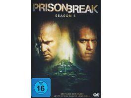 Prison Break Season 5 3 DVDs