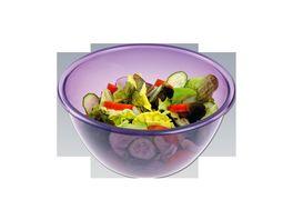 chg Party oder Salatschuessel 28 cm lila
