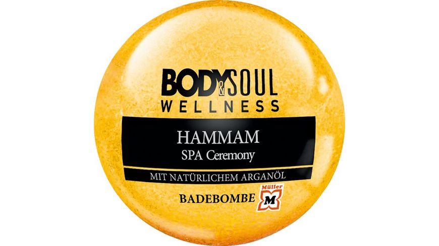 BODY SOUL Badebombe Hammam