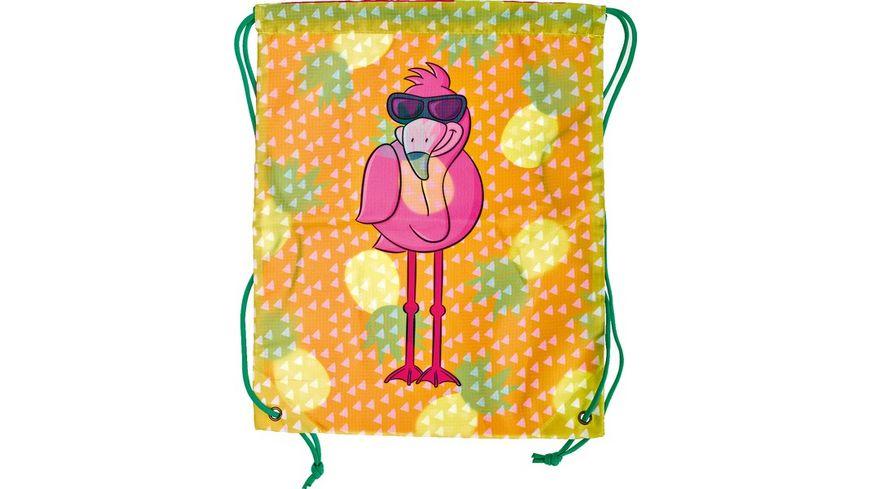 Sportbeutel Flamingo