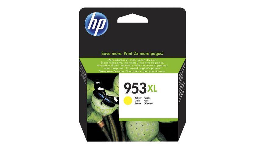 HP Druckerpatrone 953XL gelb