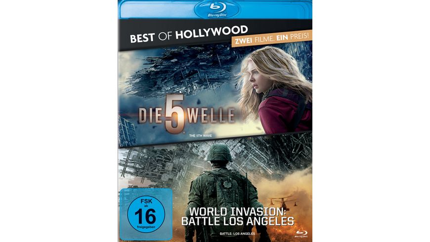 Die 5 Welle World Invasion Battle Los Angeles Best of Hollywood 2 Movie Collector s Pack 2 BRs