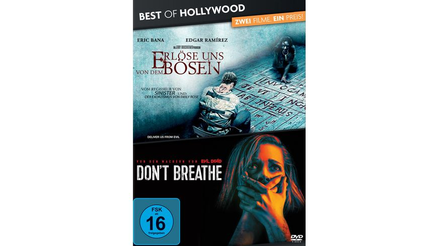Erloese uns von dem Boesen Don t Breathe Best of Hollywood 2 Movie Collector s Pack 2 DVDs