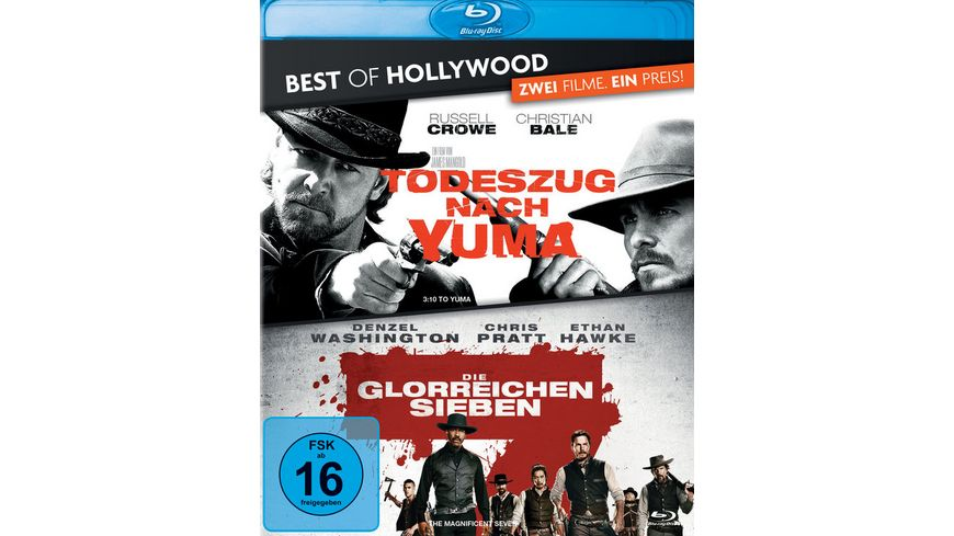 Todeszug nach Yuma Die glorreichen Sieben Best of Hollywood 2 Movie Collector s Pack 2 BRs