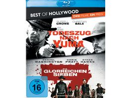 Todeszug nach Yuma Die glorreichen Sieben Best of Hollywood 2 Movie Collector s Pack 2 BRs