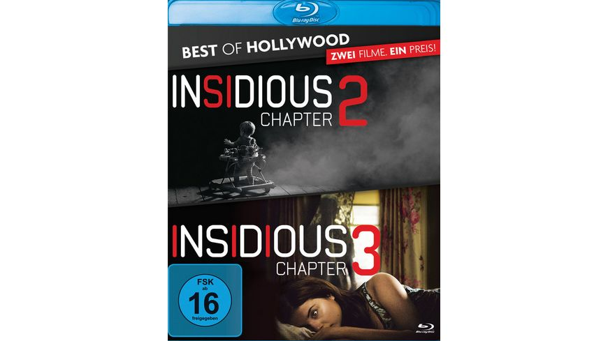 Insidious Chapter 2 Insidious Chapter 3 Best of Hollywood 2 Movie Collector s Pack 2 BRs
