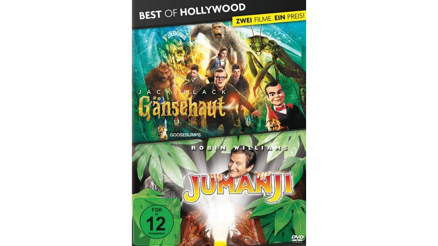Gaensehaut Jumanji Best of Hollywood 2 Movie Collector s Pack 2 DVDs