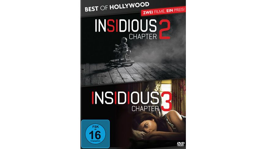 Insidious Chapter 2 Insidious Chapter 3 Best of Hollywood 2 Movie Collector s Pack 2 DVDs