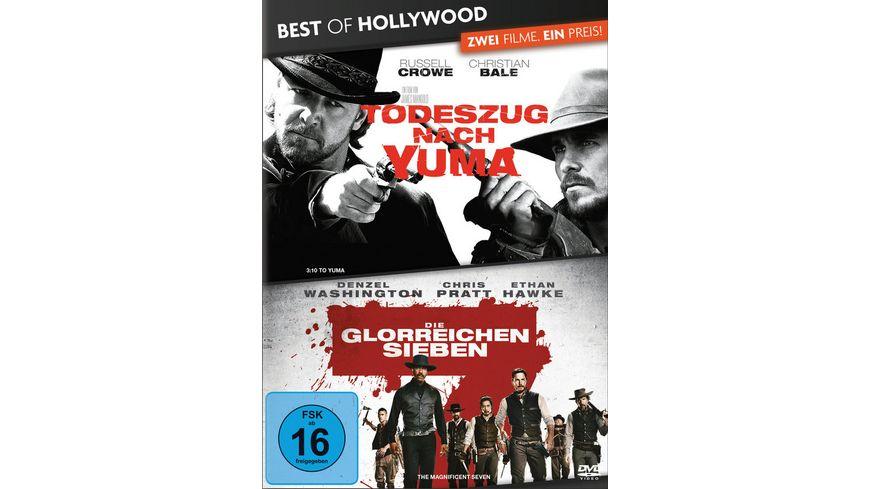 Todeszug nach Yuma Die glorreichen Sieben Best of Hollywood 2 Movie Collector s Pack 2 DVDs