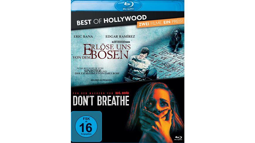 Erloese uns von dem Boesen Don t Breathe Best of Hollywood 2 Movie Collector s Pack 2 BRs