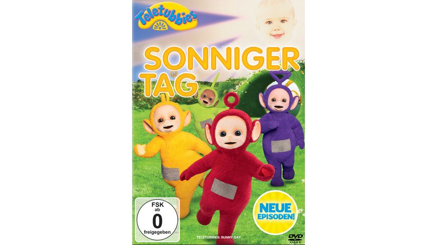 Teletubbies Sonniger Tag