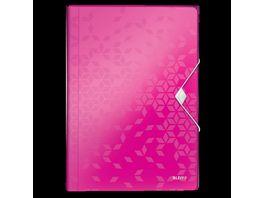 LEITZ Projektmappe Wow pink