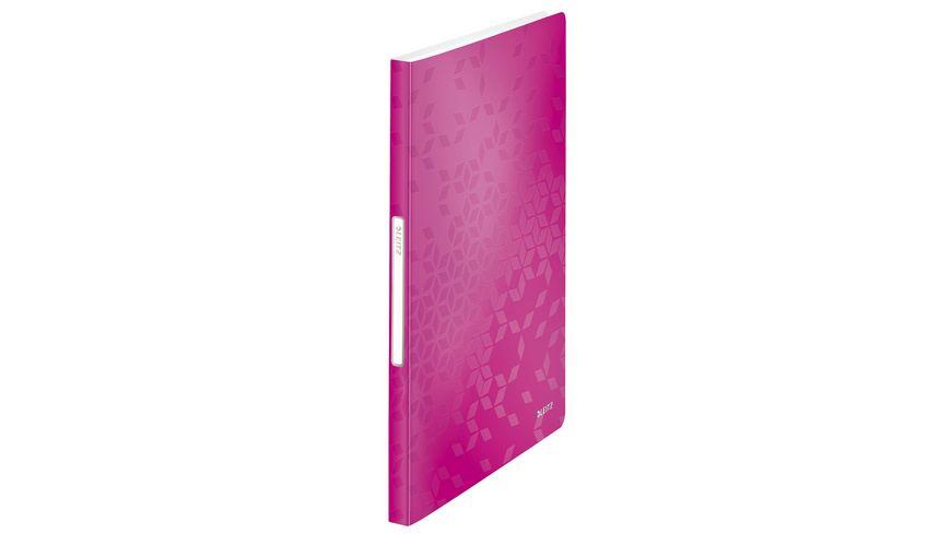 LEITZ Sichtbuch Wow pink