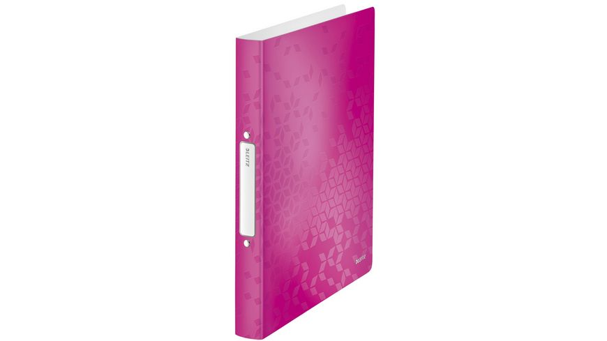 LEITZ Ringbuch Wow pink