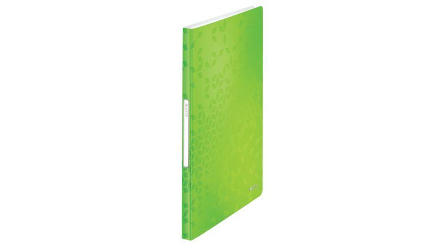 LEITZ Sichtbuch Wow grün