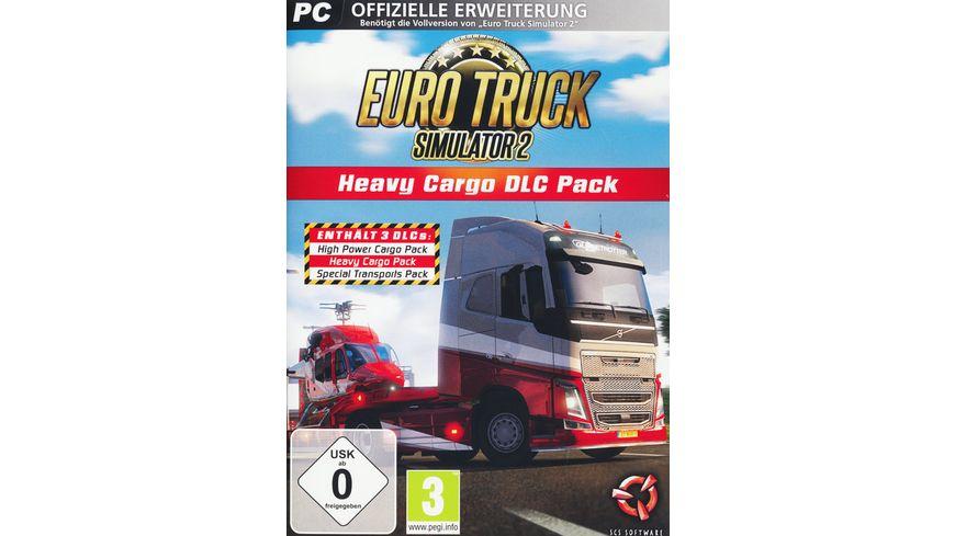 Euro Truck Simulator 2 Heavy Cargo Add On
