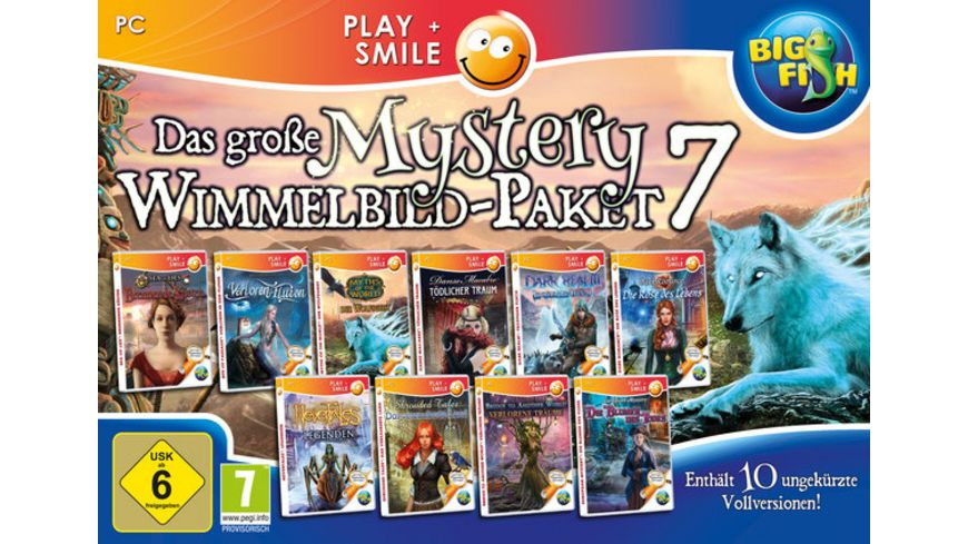 Das grosse Mystery Wimmelbil Paket 7