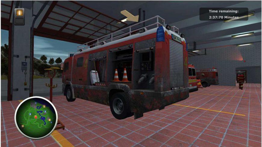 Berufsfeuerwehr Die Simulation