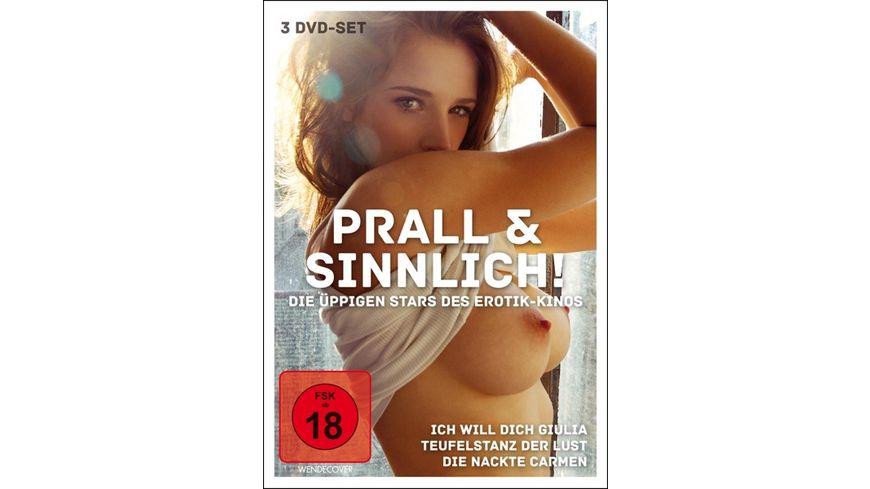 Prall und Sinnlich Die ueppigen Stars des Erotik Kinos 3 DVDs