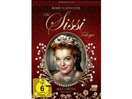 Sissi 1 3 3 DVDs Purpurrot Edition