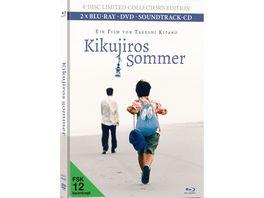 Kikujiros Sommer Bonus DVD Bonus Blu ray Soundtrack CD LCE