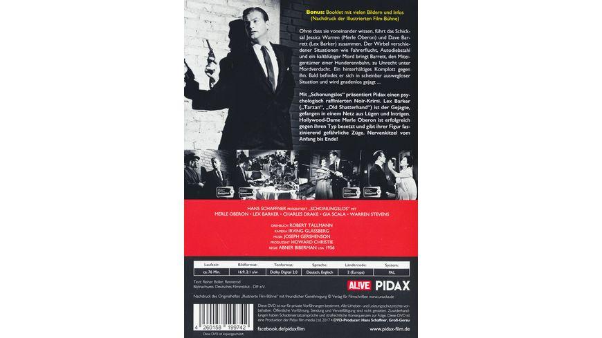 Schonungslos Price of Fear Spannender Noir Krimi mit Lex Barker und Merle Oberon Pidax Film Klassiker