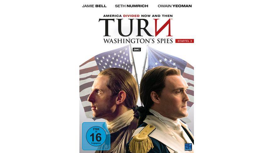 Turn Washington s Spies Staffel 3 4 DVDs