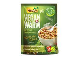 Tartex Vegan Warm Italienische Kraeuter