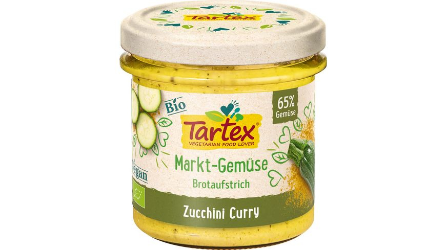 Tartex Marktgemuese Zucchini Curry