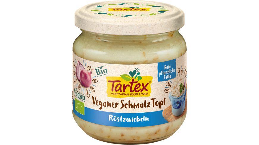 Tartex Veganer Schmalz Topf Roestzwiebeln