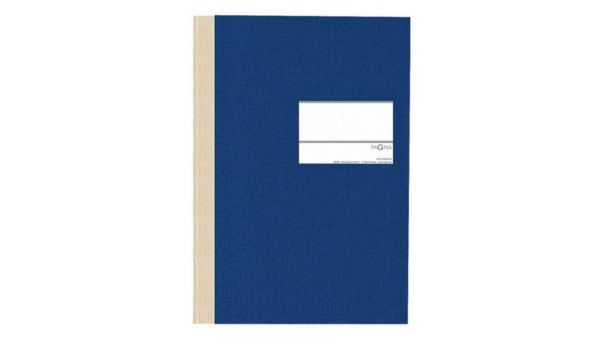 PAGNA Geschaeftsbuch Classica A4 blau kariert