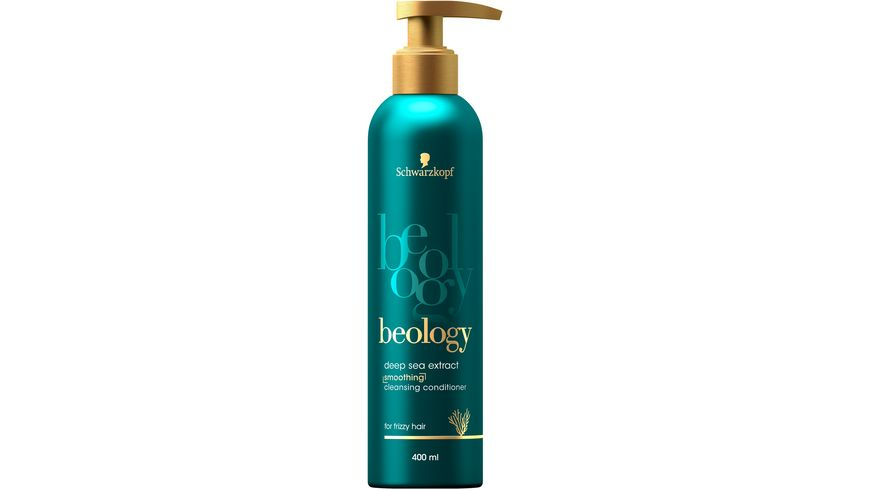 Schwarzkopf beology Cleansing Conditioner Smoothing Deep Sea Extract