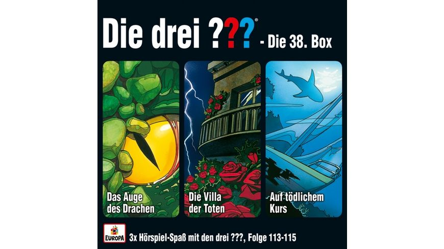 38 3er Box Folgen 113 115