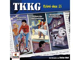 Krimi Box 21 Folgen 181 182 183