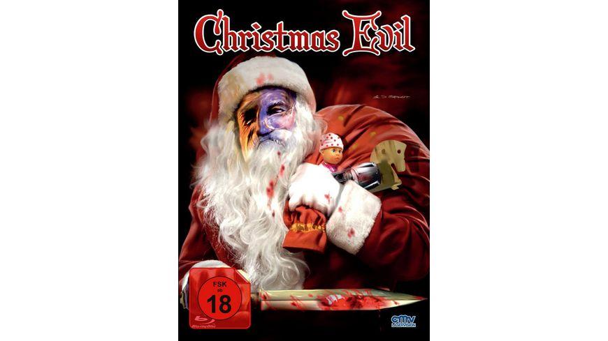 Christmas Evil Uncut Mediabook inkl Booklet DVD