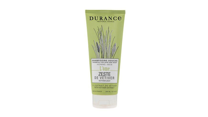 DURANCE L Ome Duschgel Shampoo Vetiver